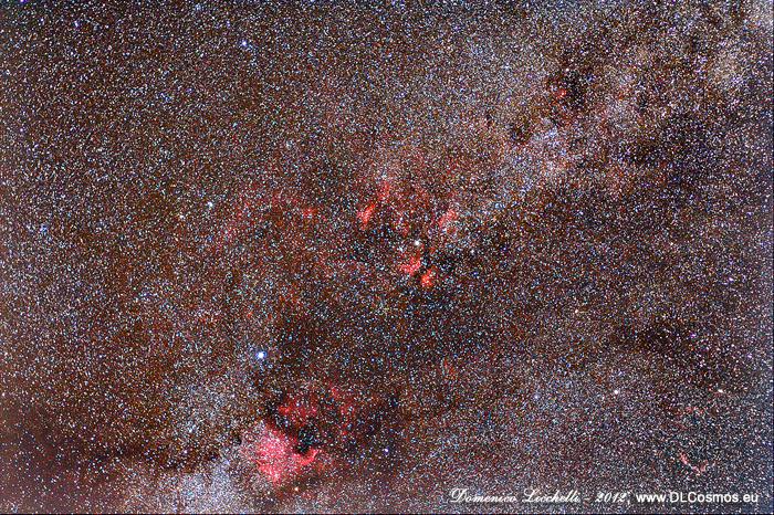 La Via Lattea nel Cigno
