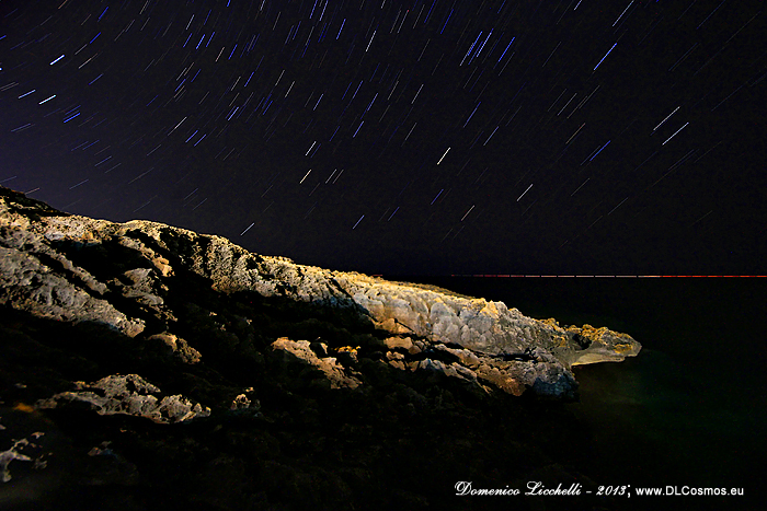 black-sea STAR TRAIL
